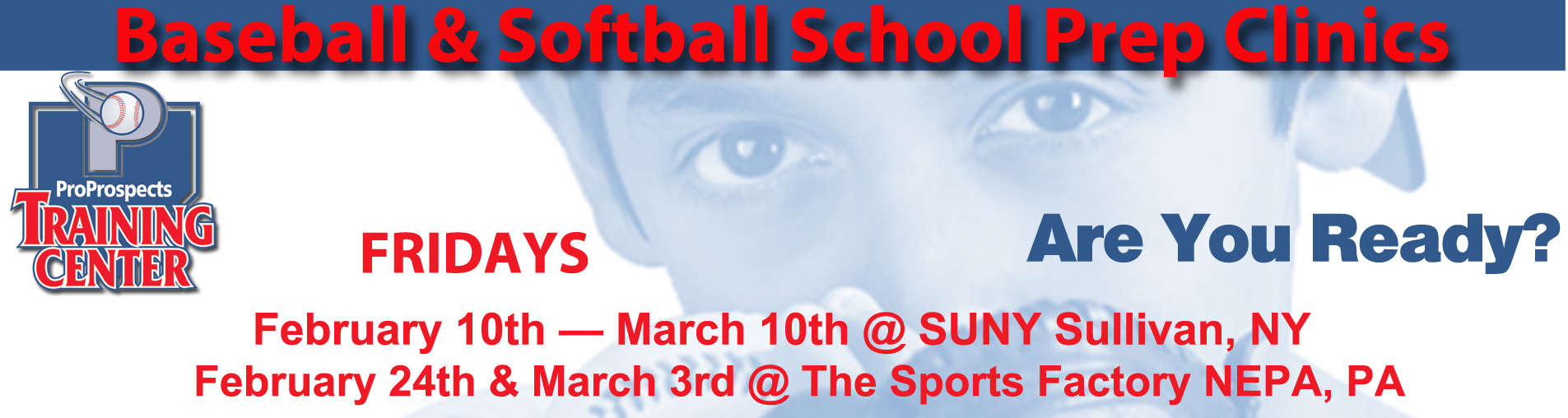 Baseball & Softball Prep Clinics